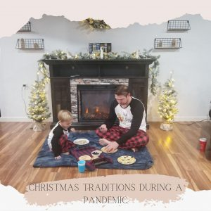 Christmas traditions during a pandemic blog banner