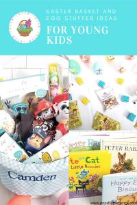 Easter basket fillers for young kids pinterest