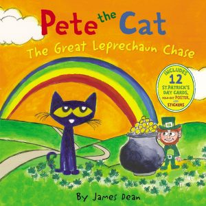 pete the cat great leprechaun chase