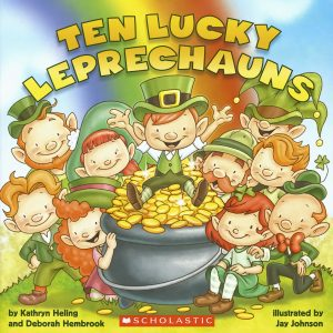 ten lucky leprechauns st patricks day books for toddlers