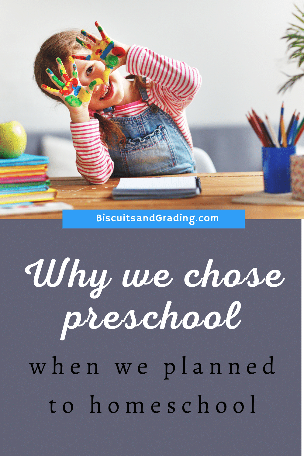 preschool planned to homeschool