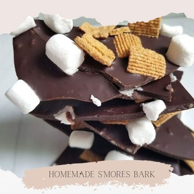 Easy Homemade S'mores Bark - Just 3 Ingredients!