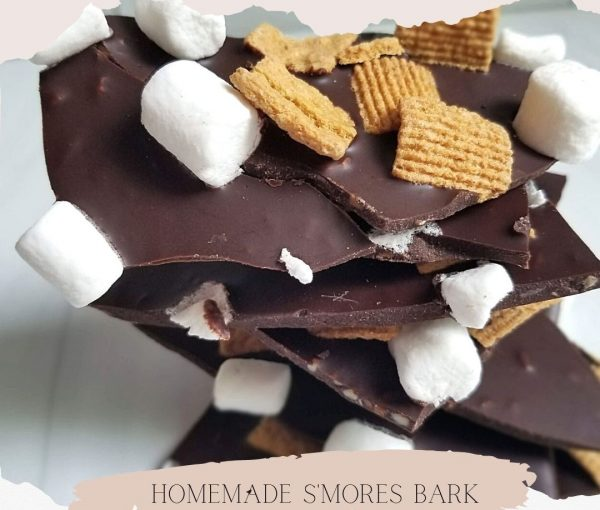 Easy Homemade S'mores Bark – Just 3 Ingredients!